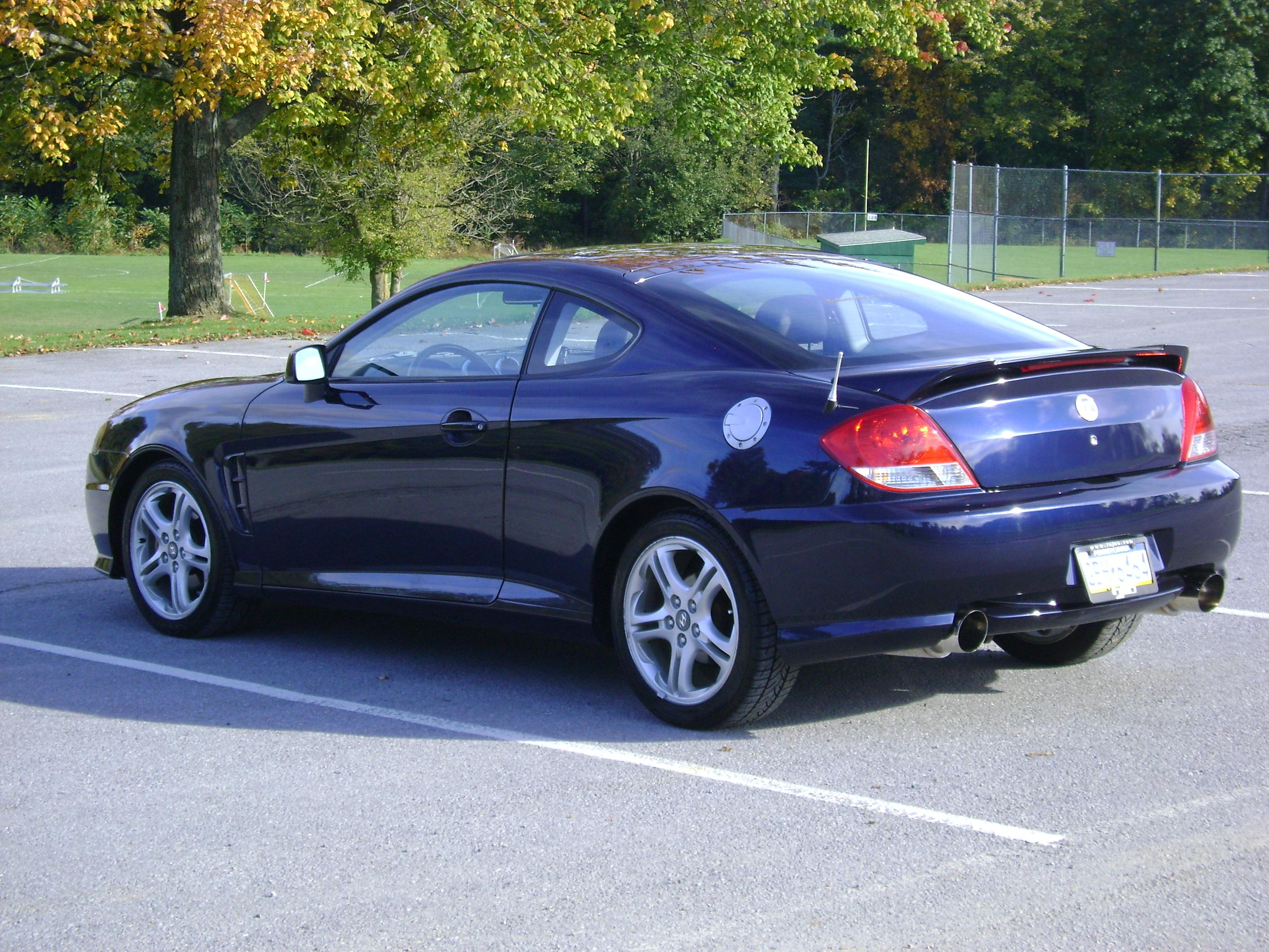 peeejster 2005 hyundai tiburon specs photos modification. Black Bedroom Furniture Sets. Home Design Ideas