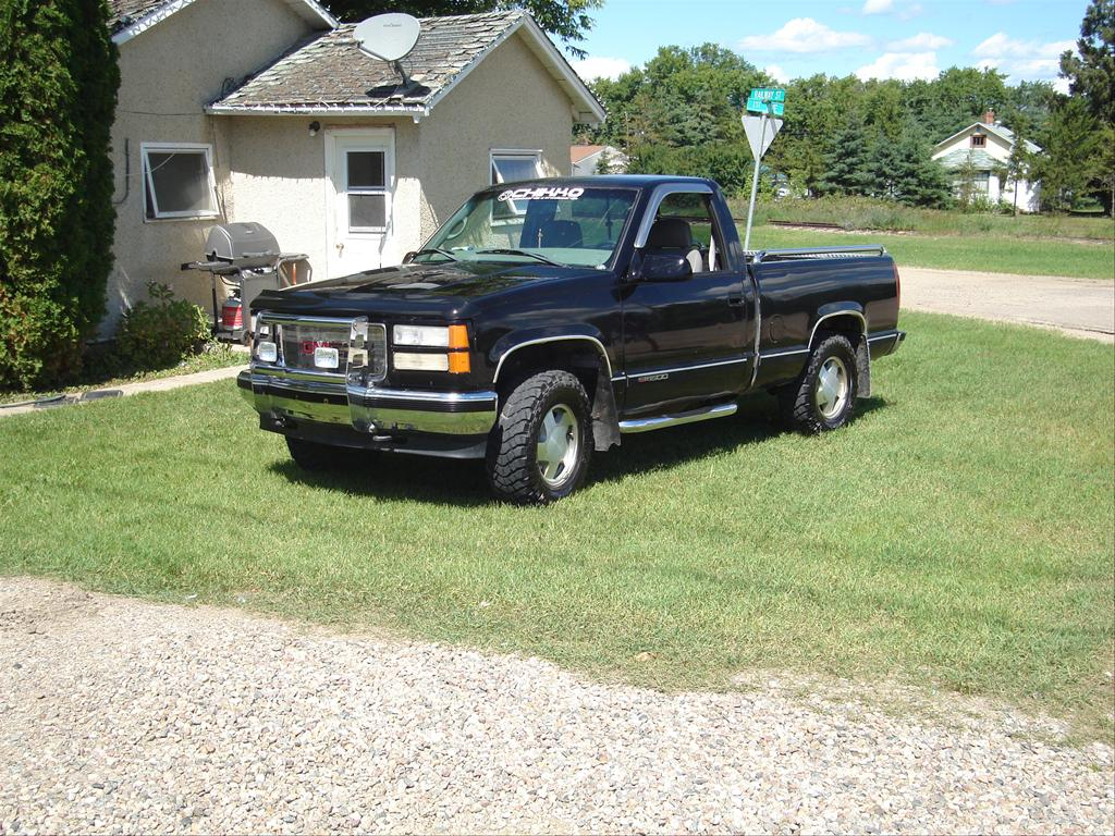 runt 05 39 s 1998 gmc sierra 1500 regular cab in paradise. Black Bedroom Furniture Sets. Home Design Ideas