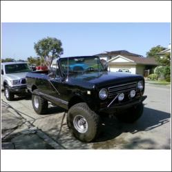 engiles 1976 International Scout II