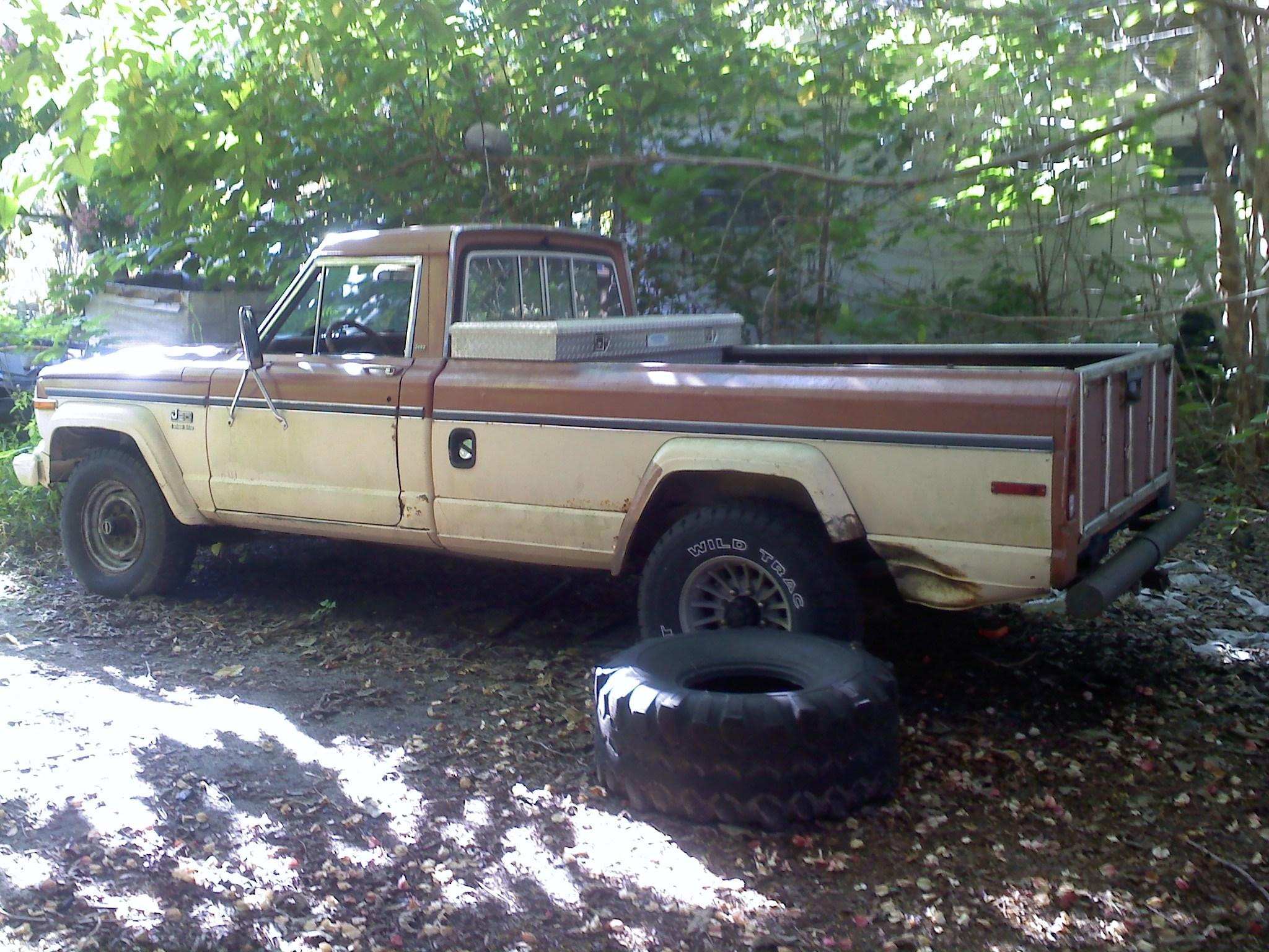Cowgirlchev83 1982 Jeep J20 Specs, Photos, Modification Info