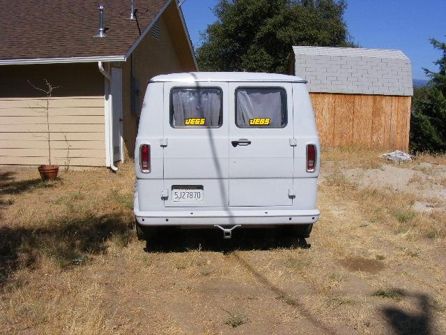Another BAD 69 FORD VAN 1969 Ford Econoline E150 Passenger post... - 13879218