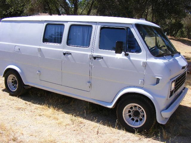 Another BAD 69 FORD VAN 1969 Ford Econoline E150 Passenger post... - 13879220