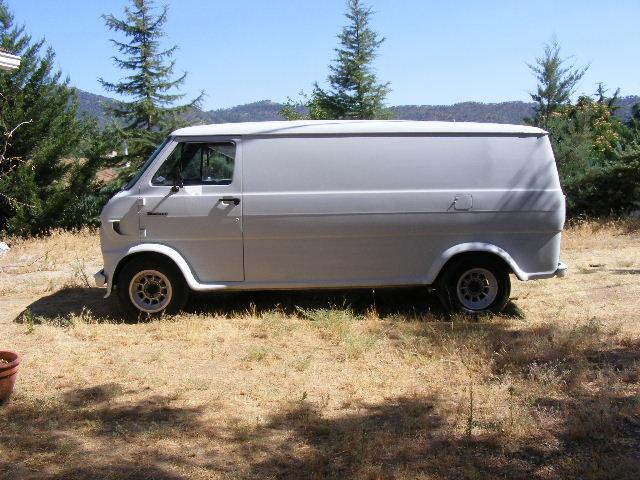 Another BAD 69 FORD VAN 1969 Ford Econoline E150 Passenger post... - 13879221