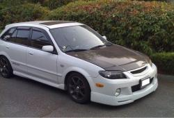 White_P5s 2003 Mazda Protege5