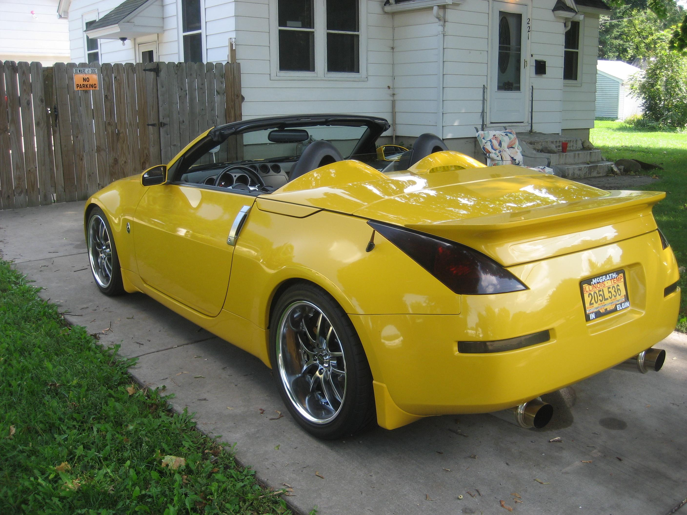 melvis 2005 nissan 350z specs photos modification info. Black Bedroom Furniture Sets. Home Design Ideas