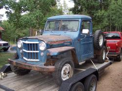 3805815 1957 Willys Pickup