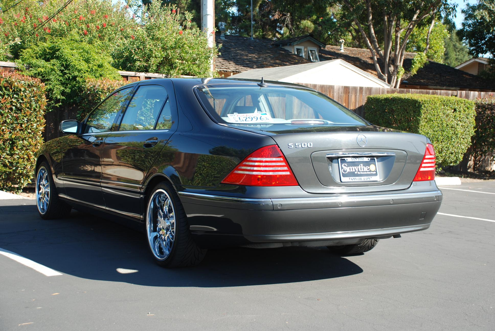 andrewpt2000 2002 mercedes benz s class specs photos. Black Bedroom Furniture Sets. Home Design Ideas