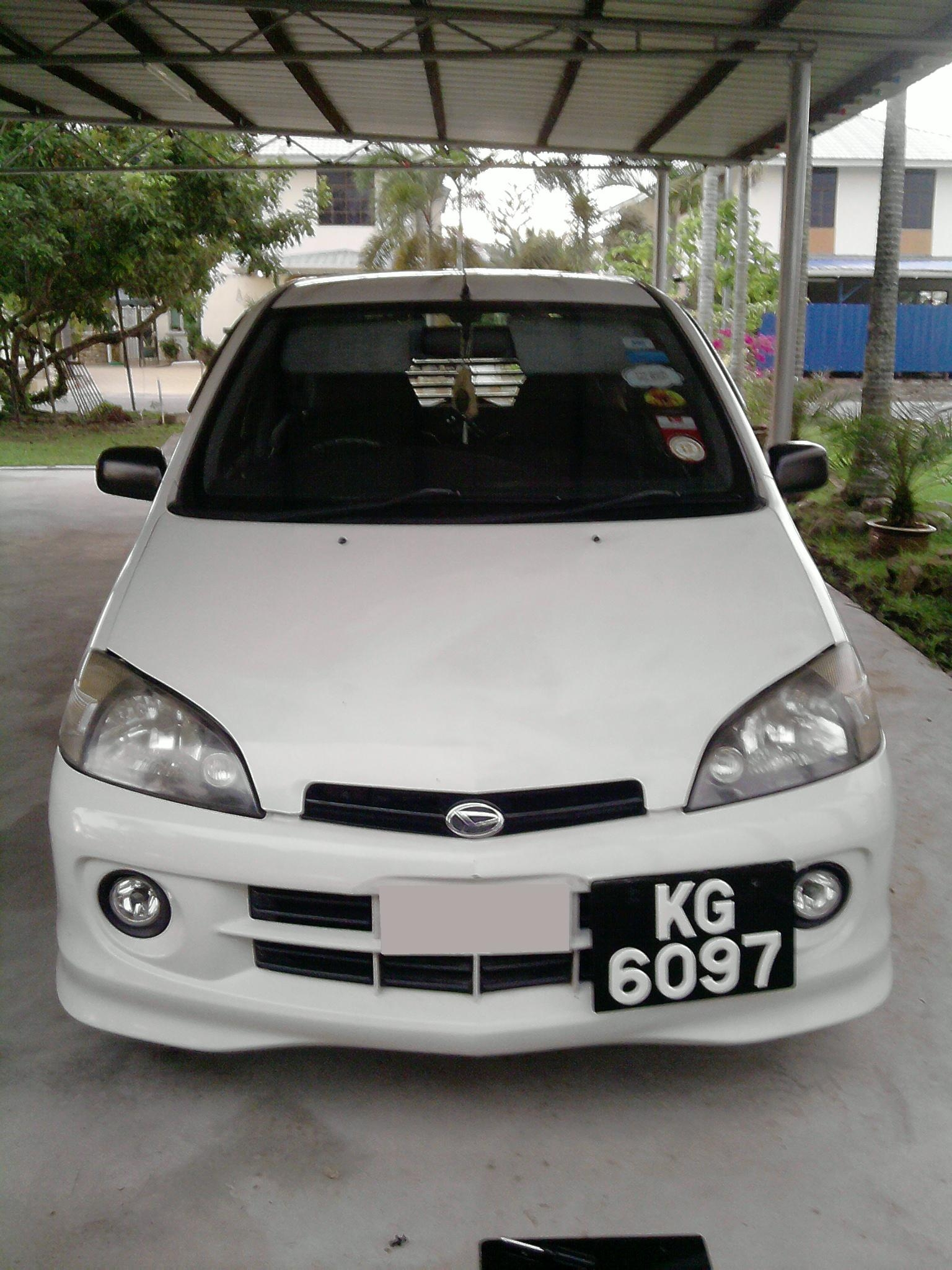 white demons 2003 daihatsu sirion specs photos modification info at cardomain. Black Bedroom Furniture Sets. Home Design Ideas