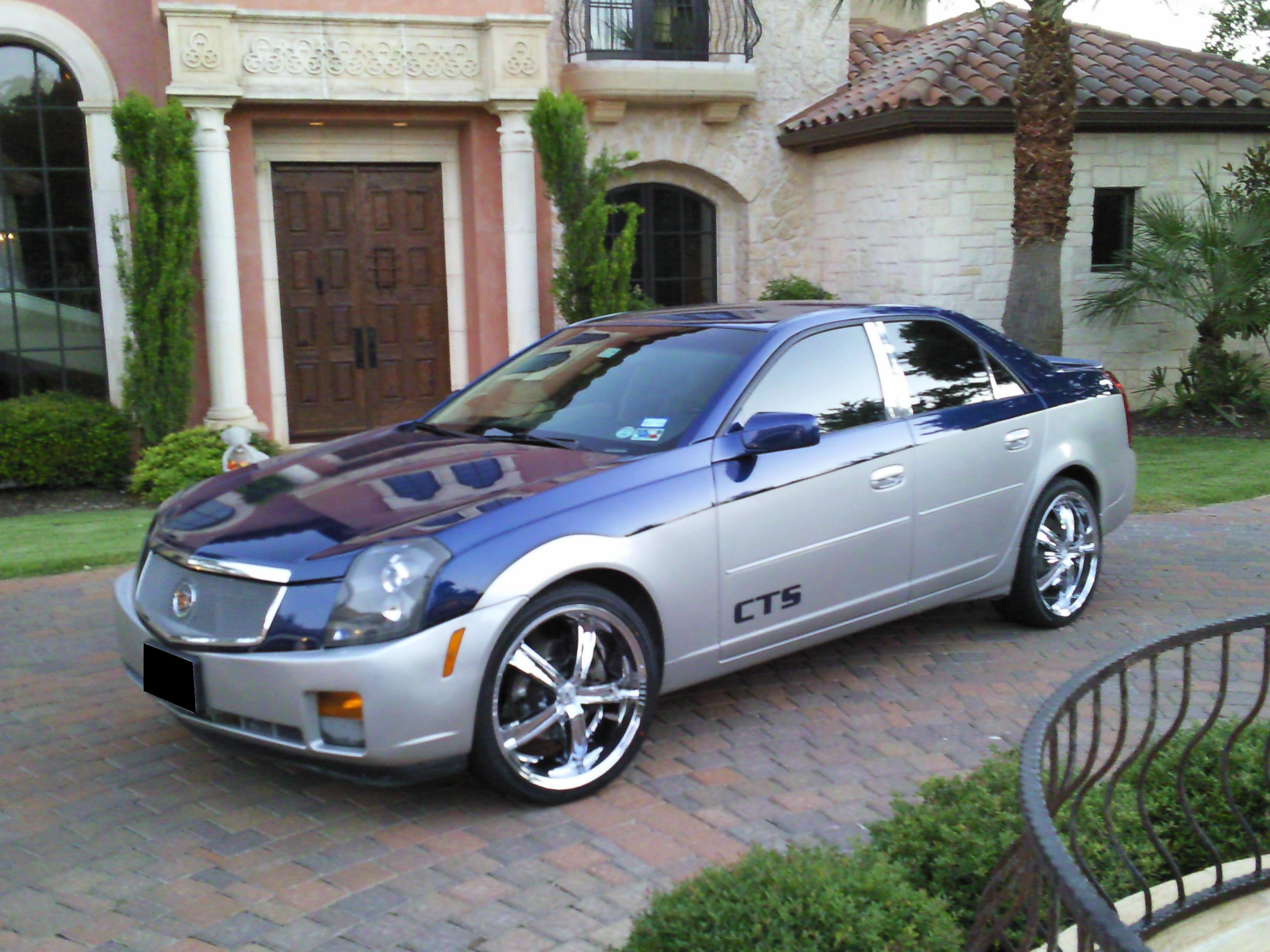 Blucts 2003 Cadillac Cts Specs  Photos  Modification Info