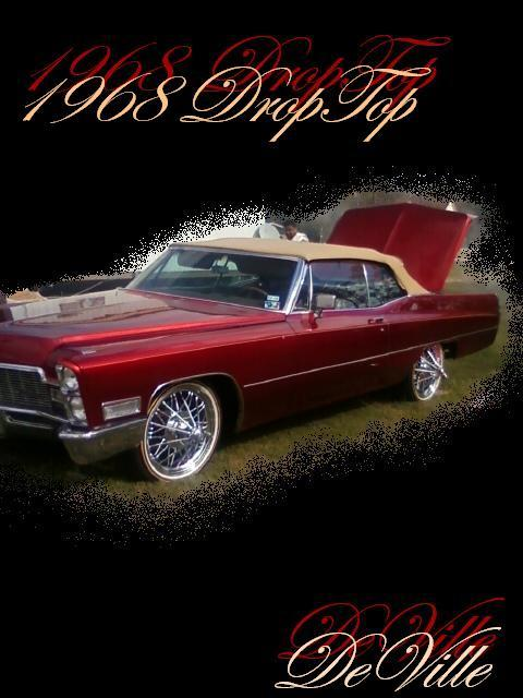Another kingpinzceo 1968 Cadillac DeVille post... - 13922347