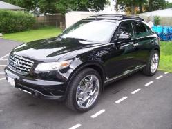 cvkriation2008s 2007 Infiniti FX