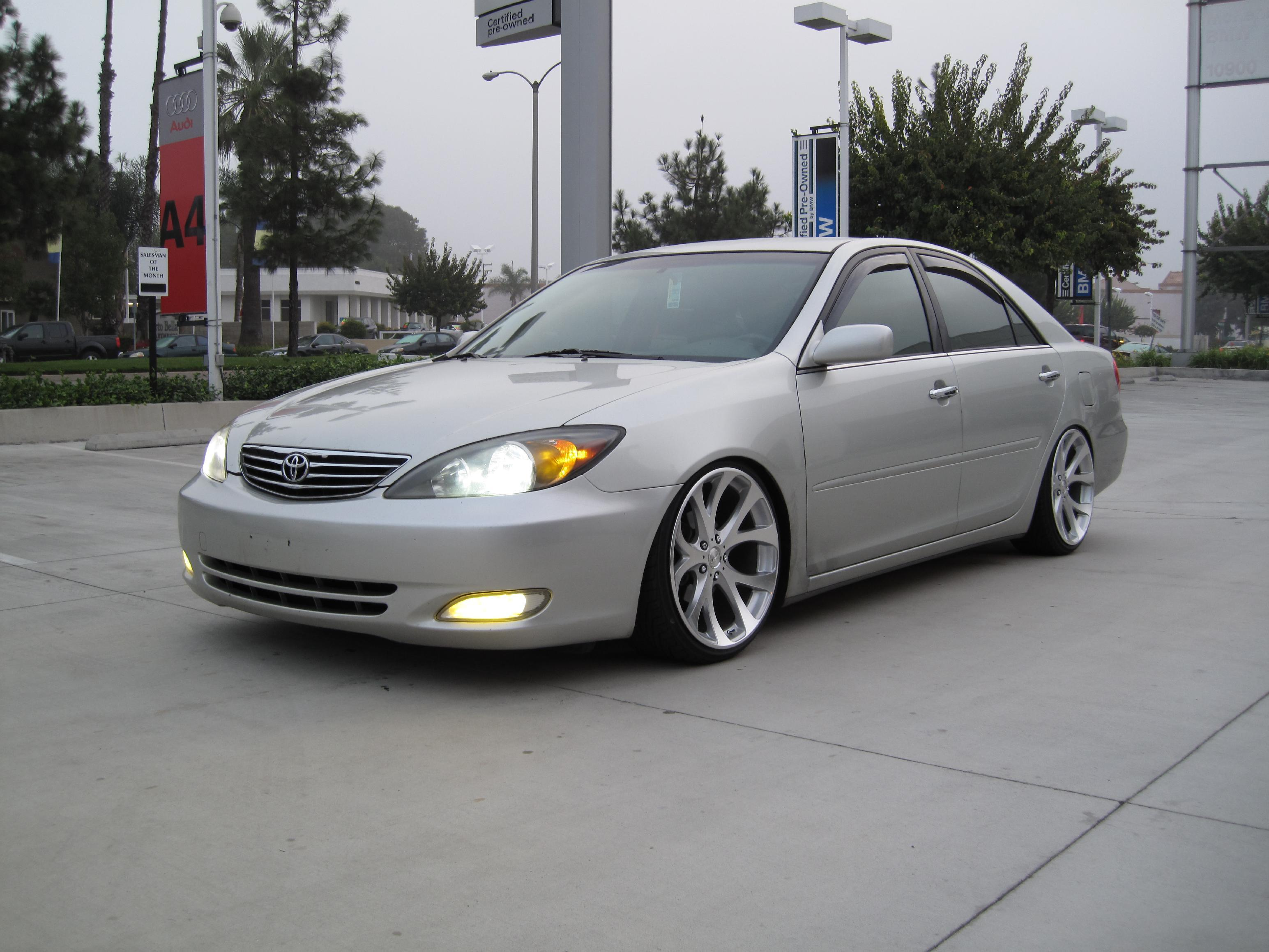 Allmotr3fitty 2002 Toyota Camry Specs Photos