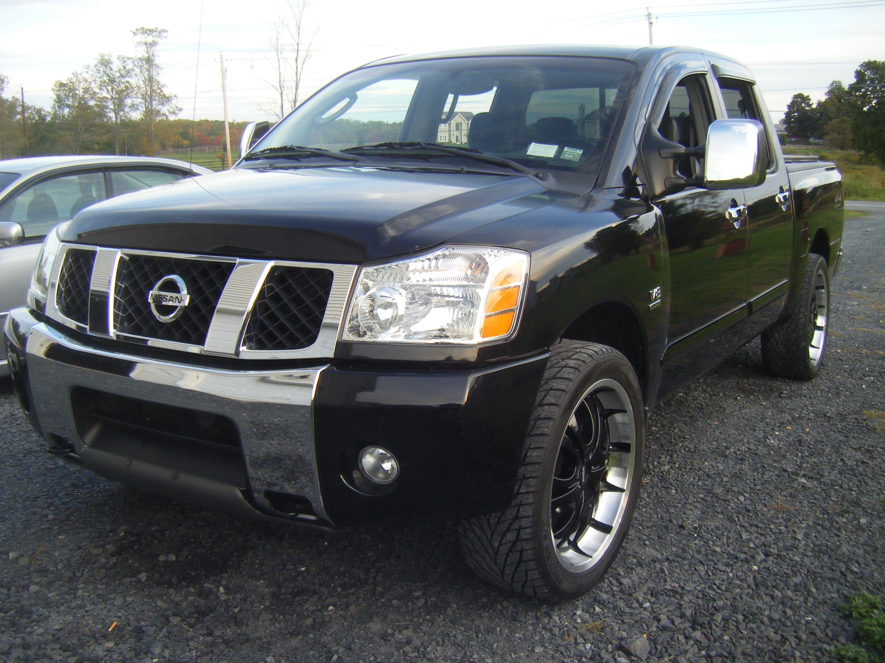 purcy2 2004 nissan titan crew cab specs photos modification info at cardomain. Black Bedroom Furniture Sets. Home Design Ideas