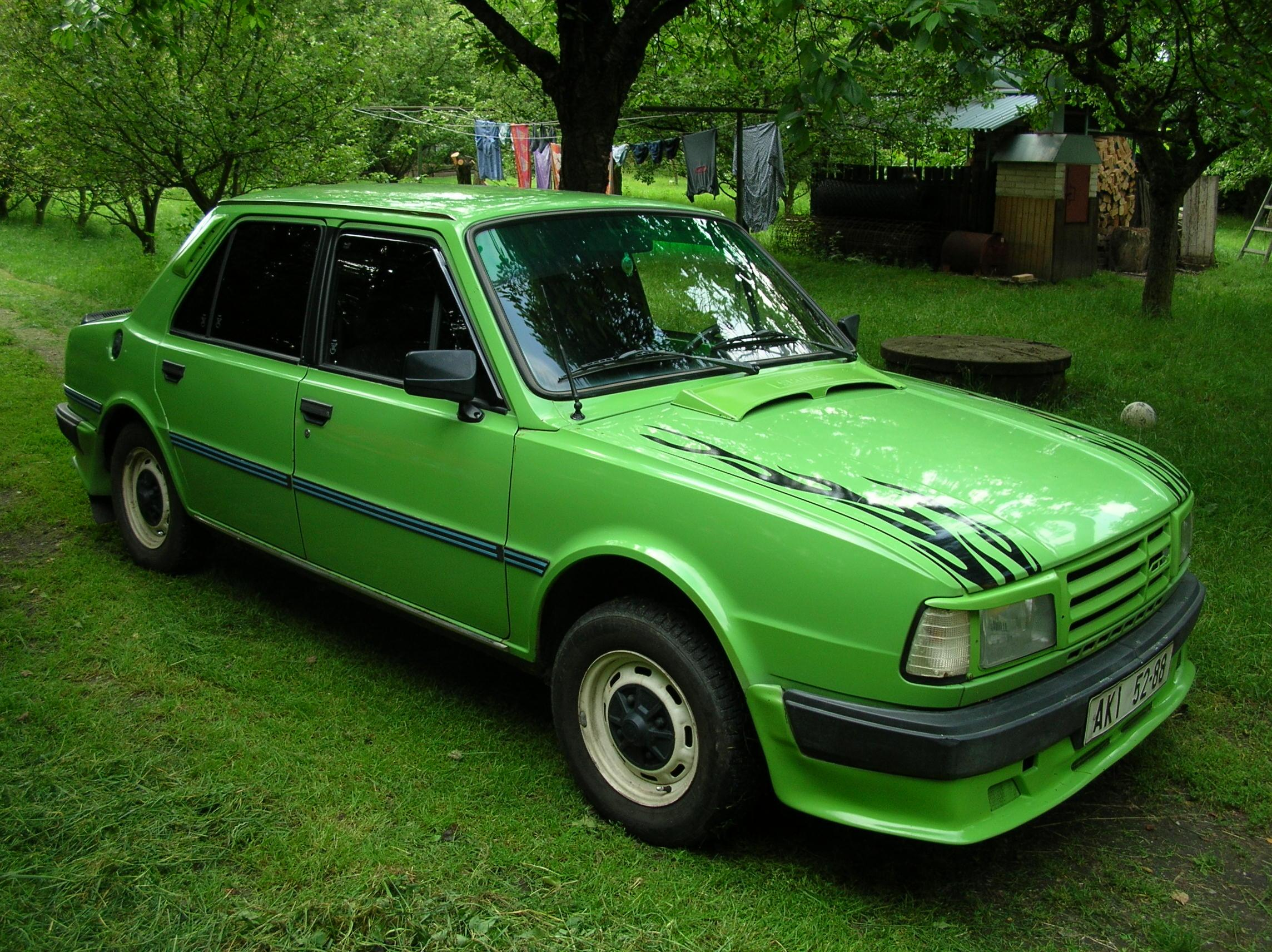 Lukanus 1987 Skoda 120 Specs Photos Modification Info At Cardomain