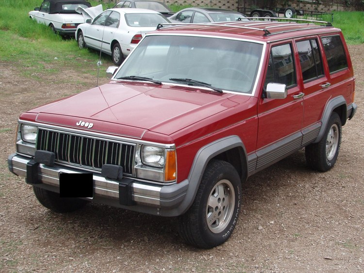 1989 Jeep Cherokee Quot Ruby Red Quot Port Hueneme Ca Owned By