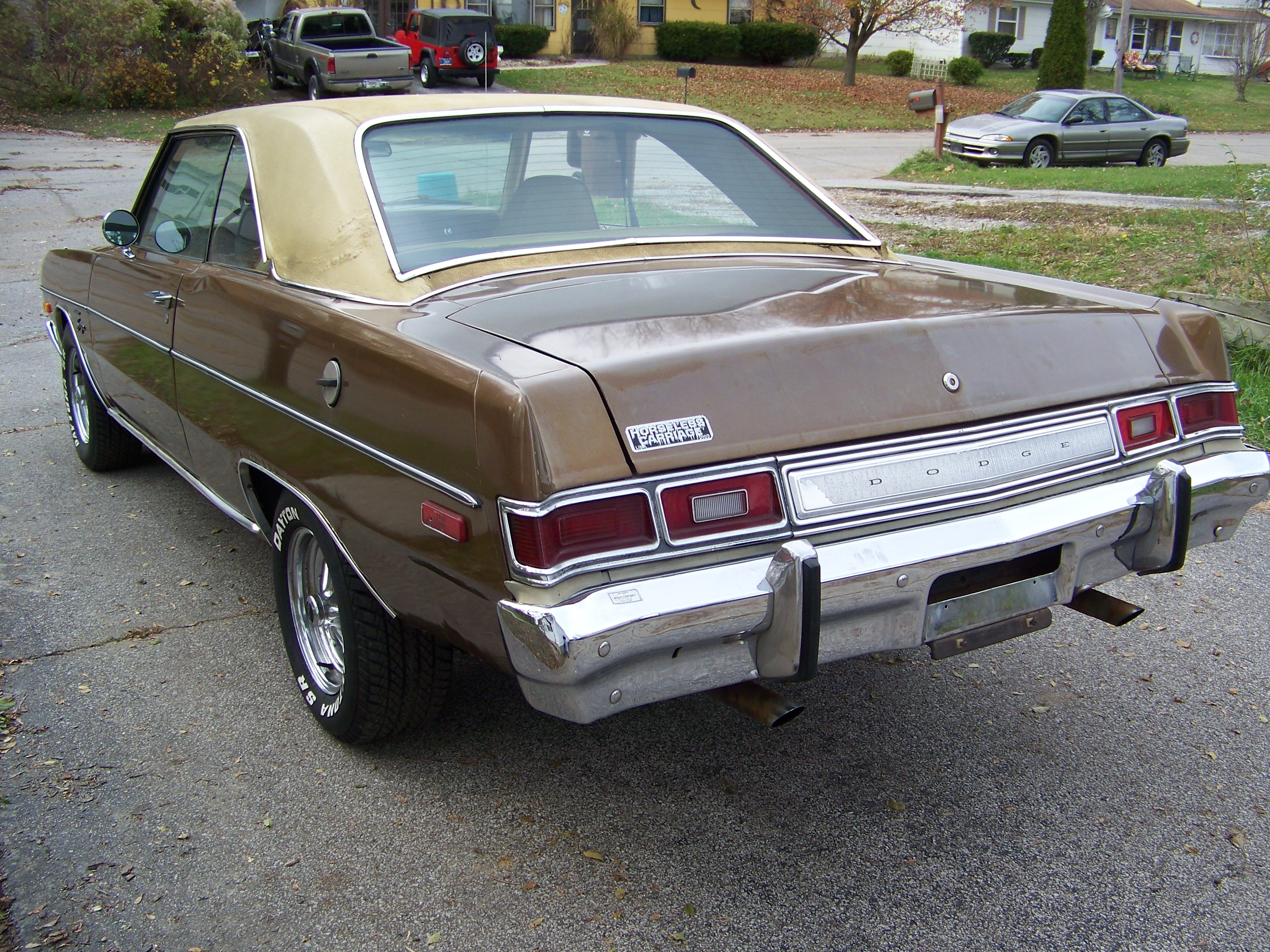 Boecephus82 1975 Dodge Dart Specs Photos Modification