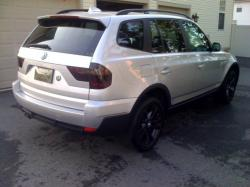chenismos 2007 BMW X3