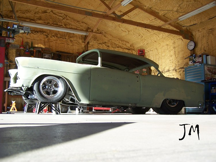 Al's 1955 Chevrolet Bel Air