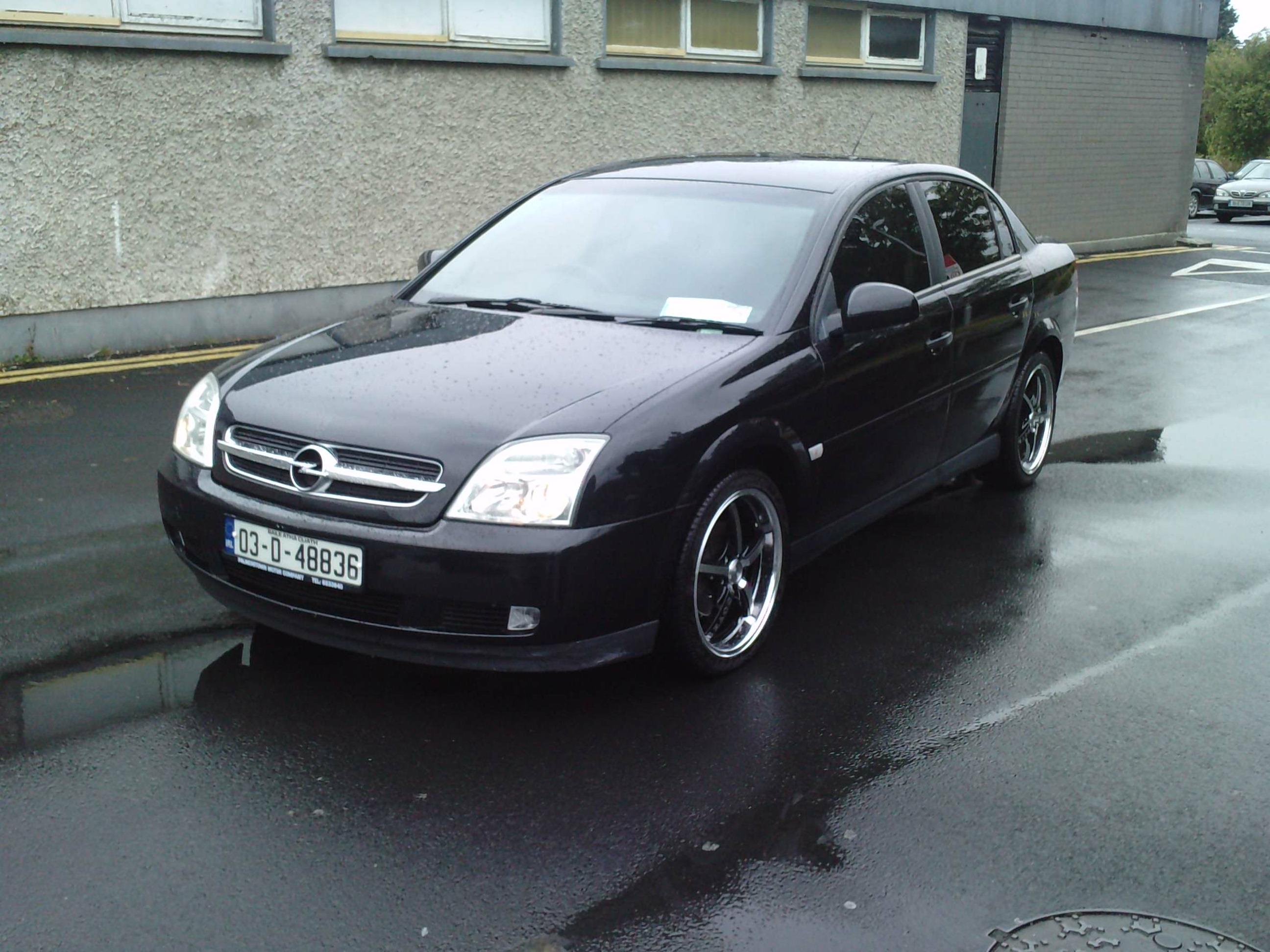 black betty 2003 Opel Vectra Specs Photos Modification