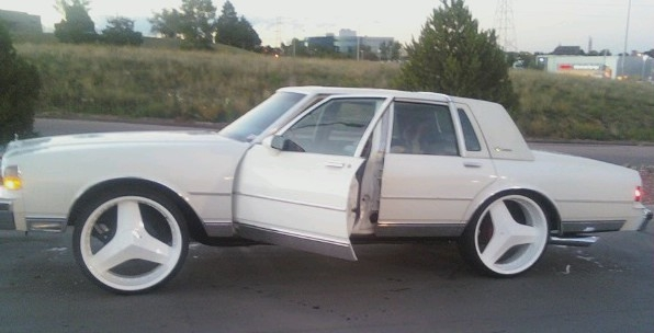 Getchaweightup 1988 Chevrolet Caprice Classic