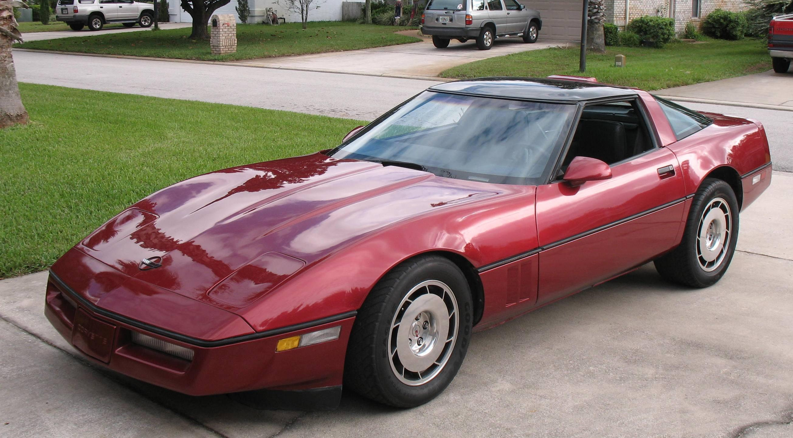 Dhawthorne15 1986 Chevrolet Corvette Specs Photos