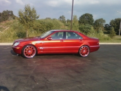 fresh-21s 2001 Mercedes-Benz S-Class