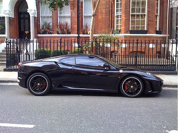 The gallery for --> Blacked Out Ferrari F430