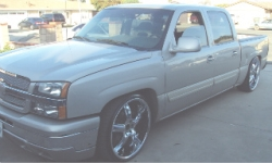 JaliscilloBallers 2005 Chevrolet Silverado 1500 Crew Cab