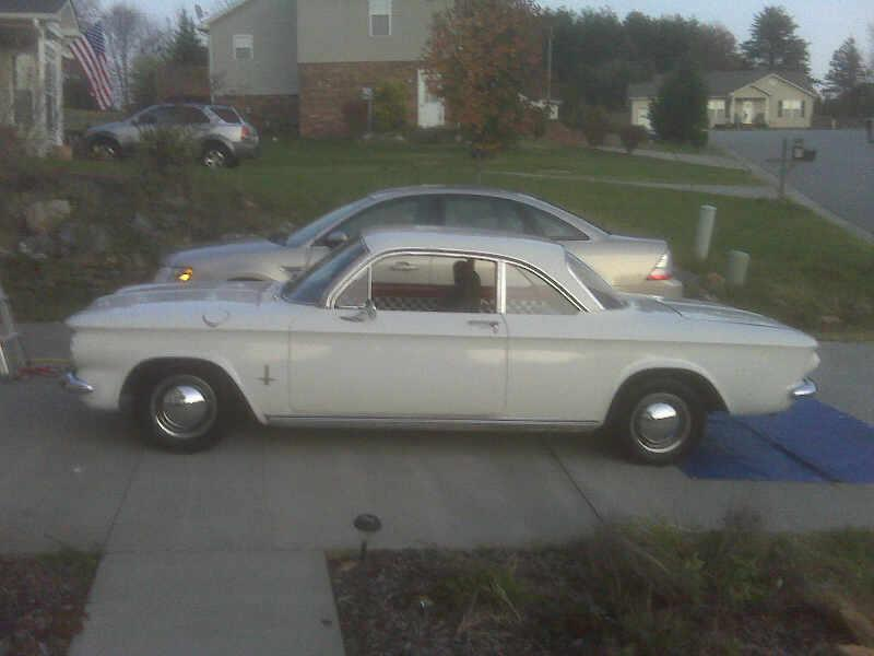 greasemunkek63's 1963 Chevrolet Corvair