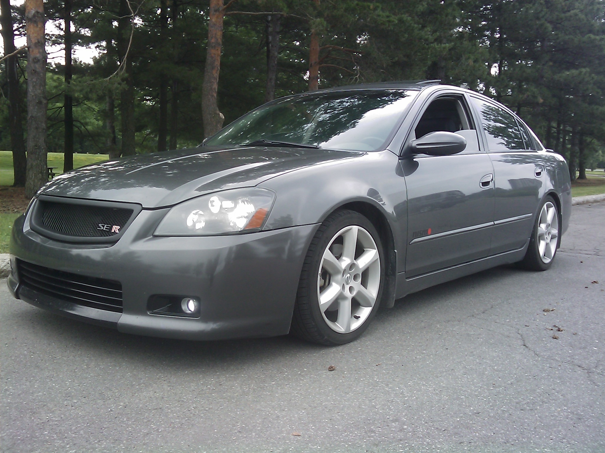CharcoalMonsteR 2005 Nissan Altima 13965299
