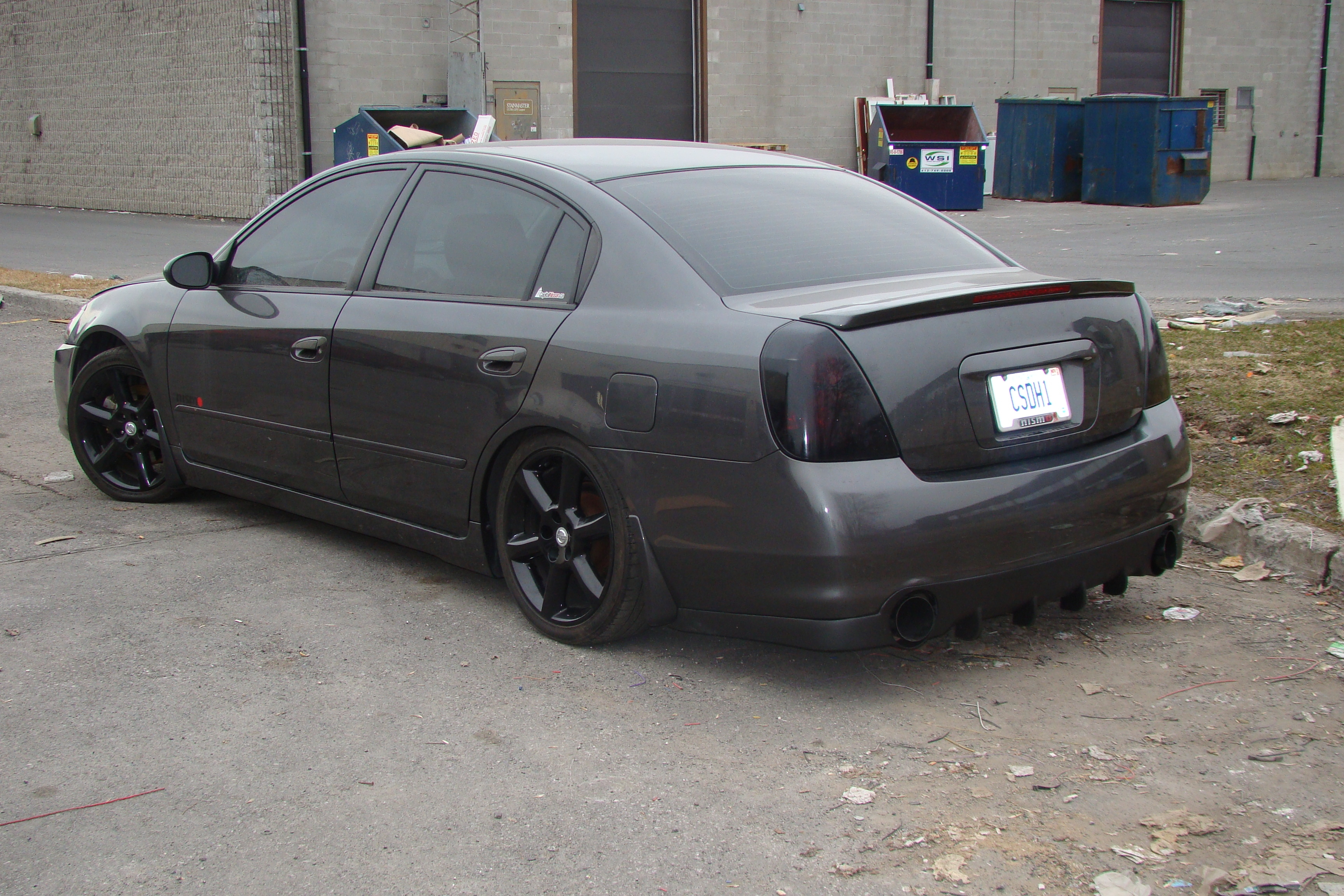 Another CharcoalMonsteR 2005 Nissan Altima post... - 13965317
