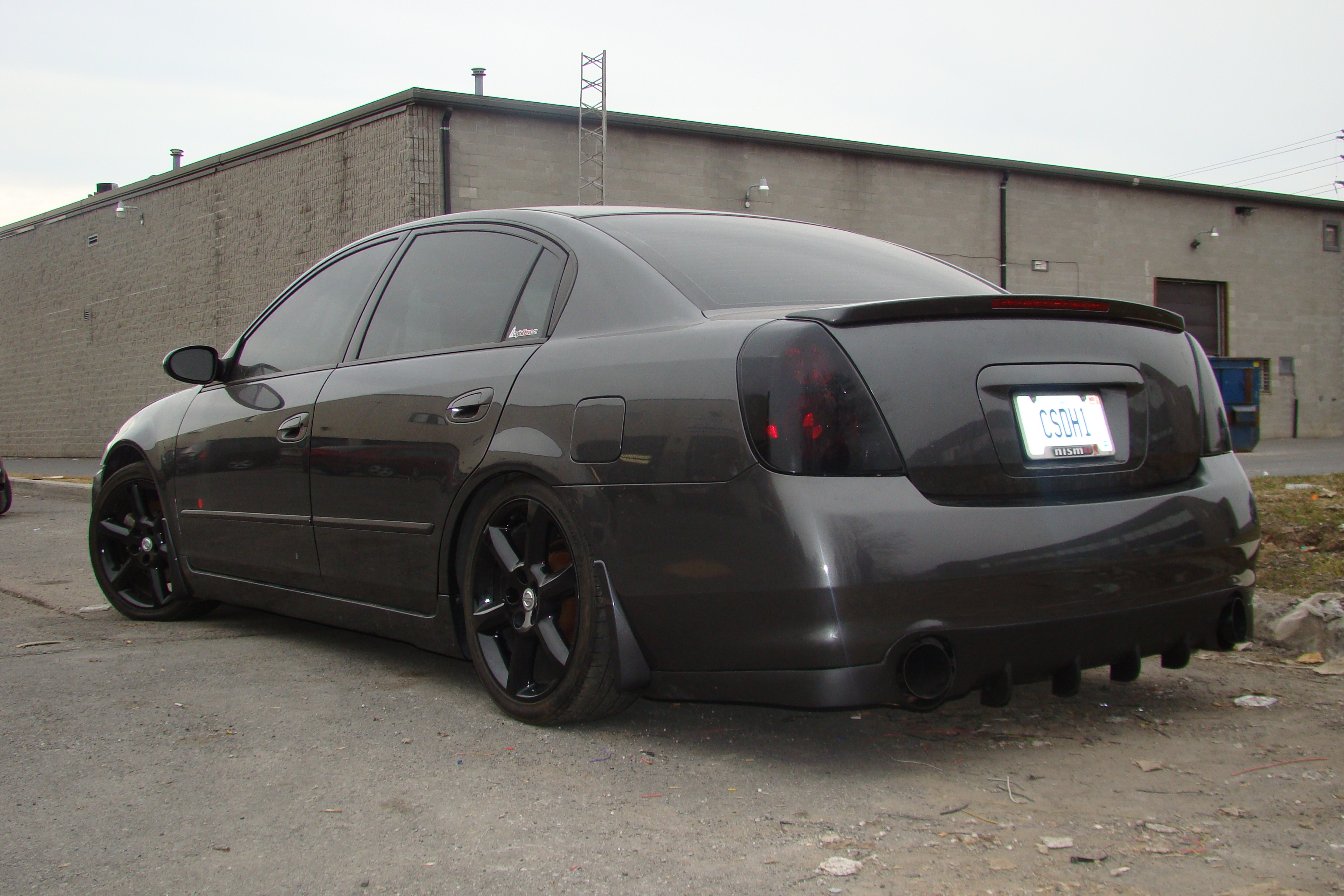 CharcoalMonsteR 2005 Nissan Altima 13965318