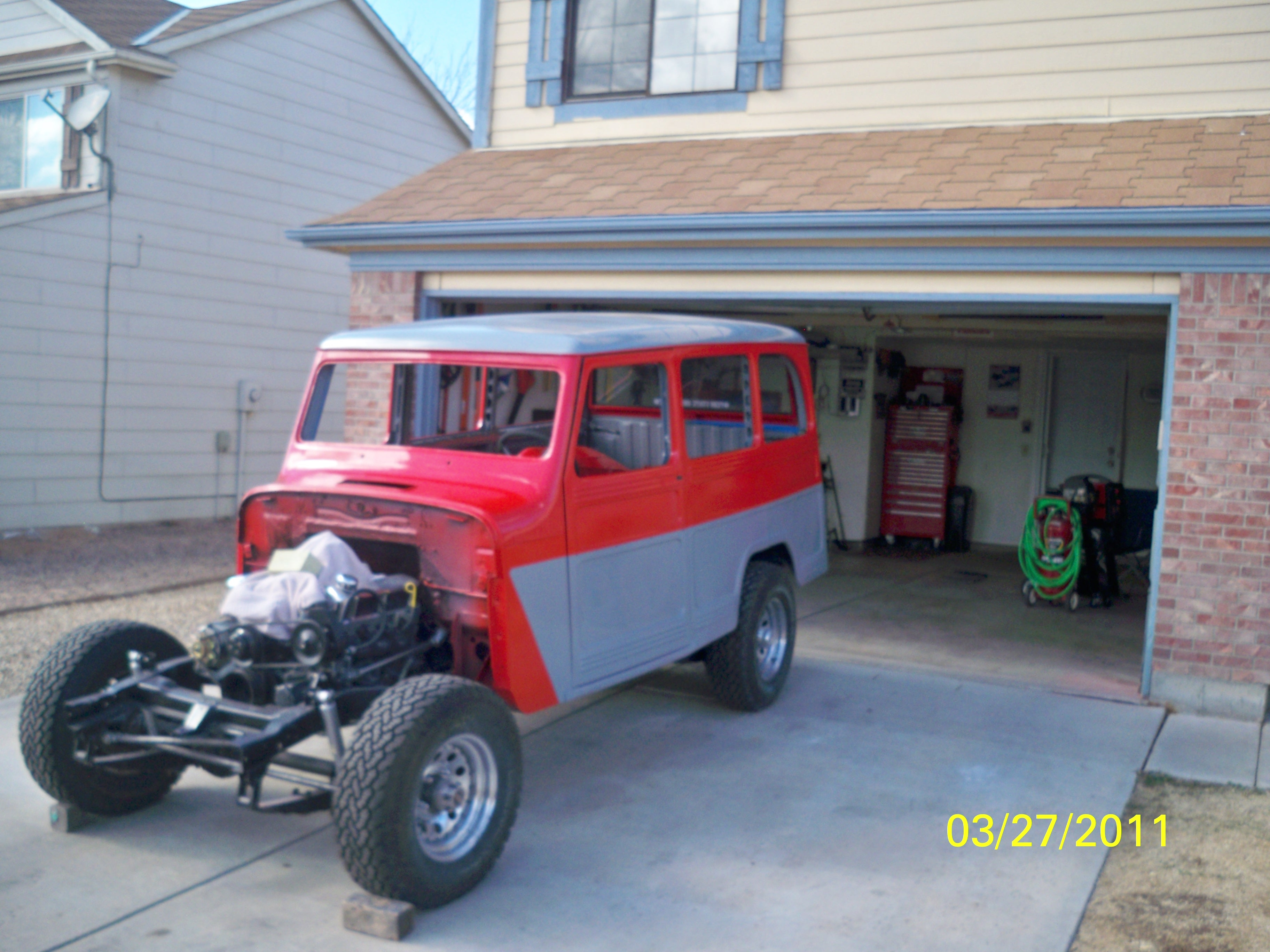jpfreak69's 1962 Willys Wagon