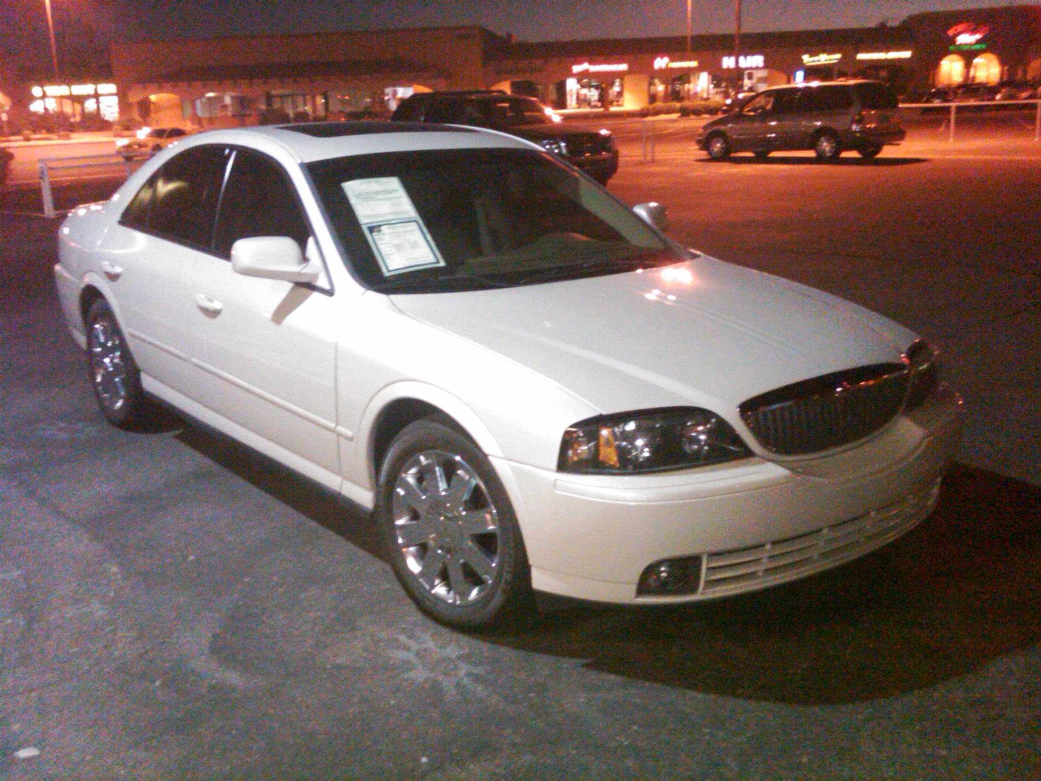 01bluelude 2004 Lincoln Ls Specs  Photos  Modification