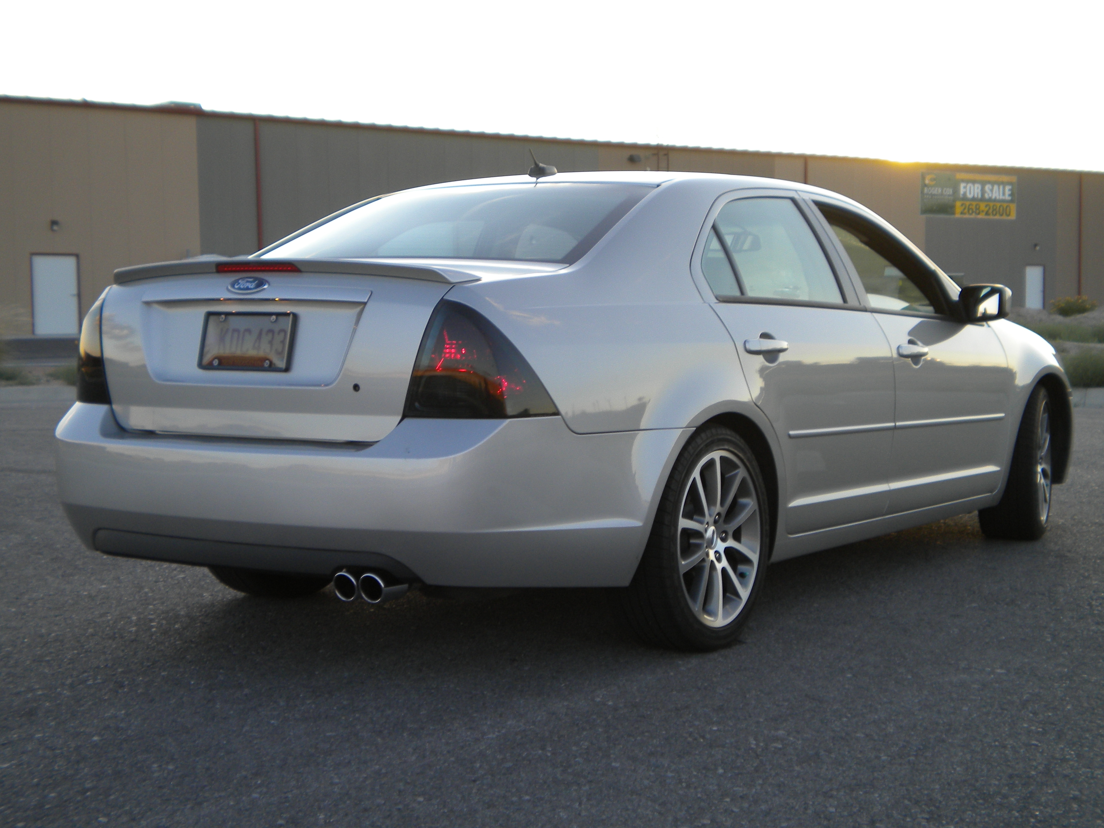 sikford 2008 Ford Fusion Specs, Photos, Modification Info ...