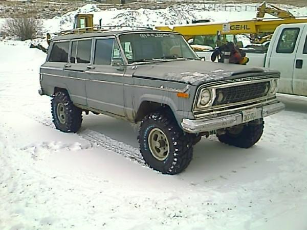 Kais3r 1976 Jeep Wagoneer Specs Photos Modification Info