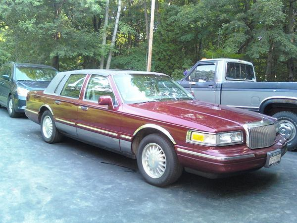 1995 Lincoln Town Car With Rims. StevenCs01#39;s 1997 Lincoln Town