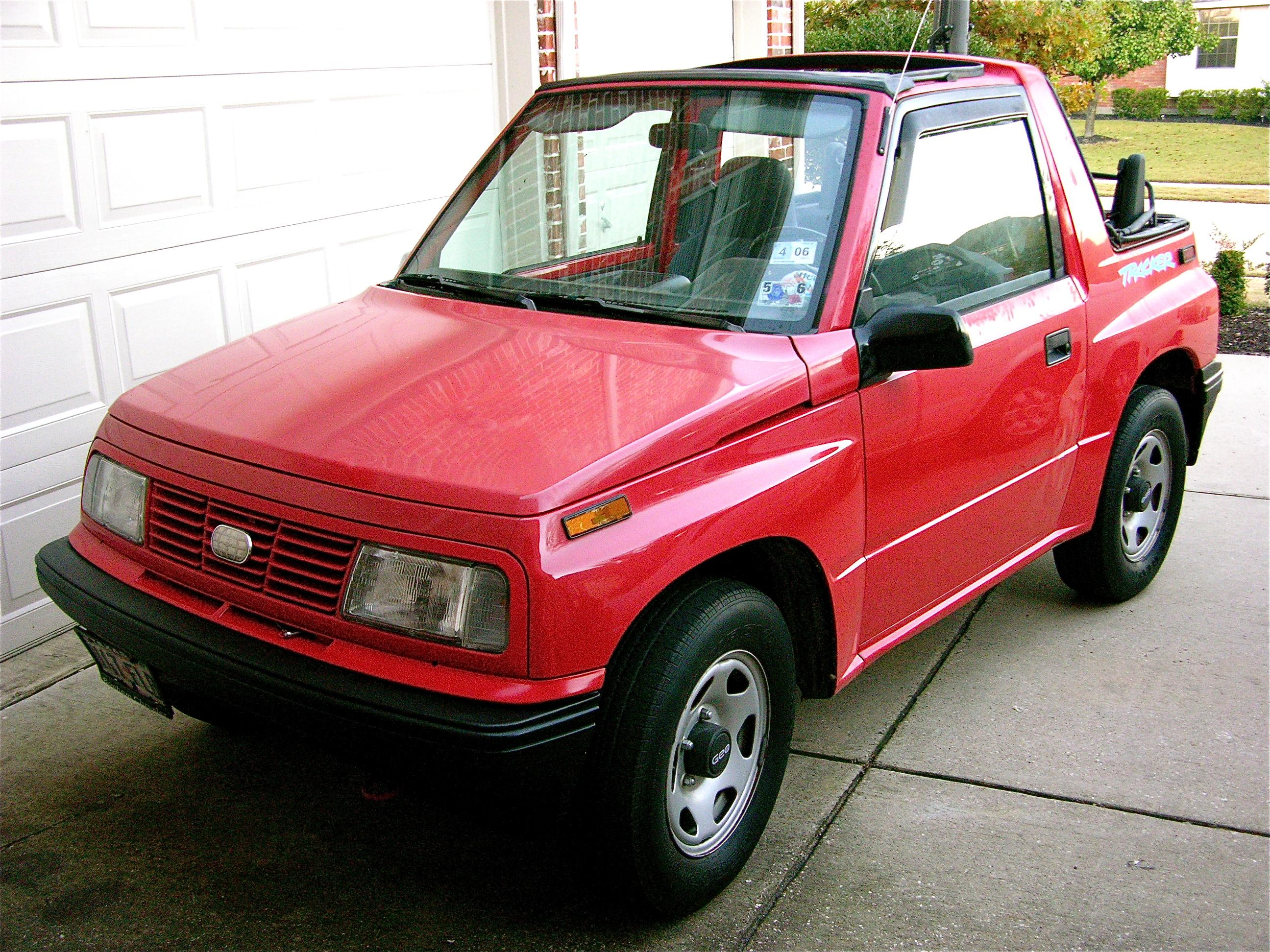 zenarchery 1994 geo tracker specs photos modification info at cardomain. Black Bedroom Furniture Sets. Home Design Ideas