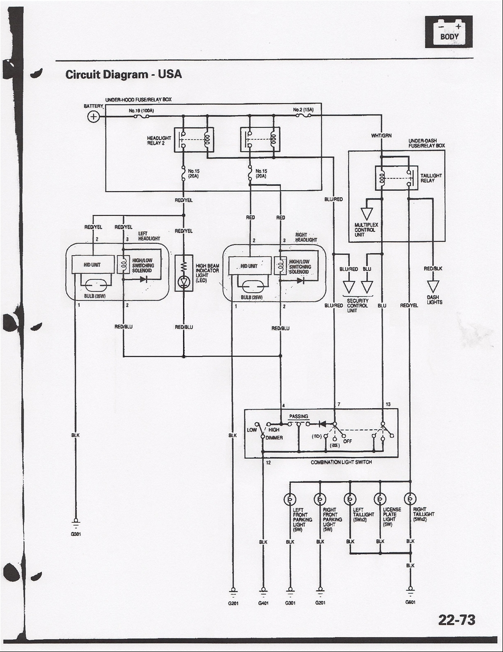 Large on 2000 Acura Tl Wiring Diagram