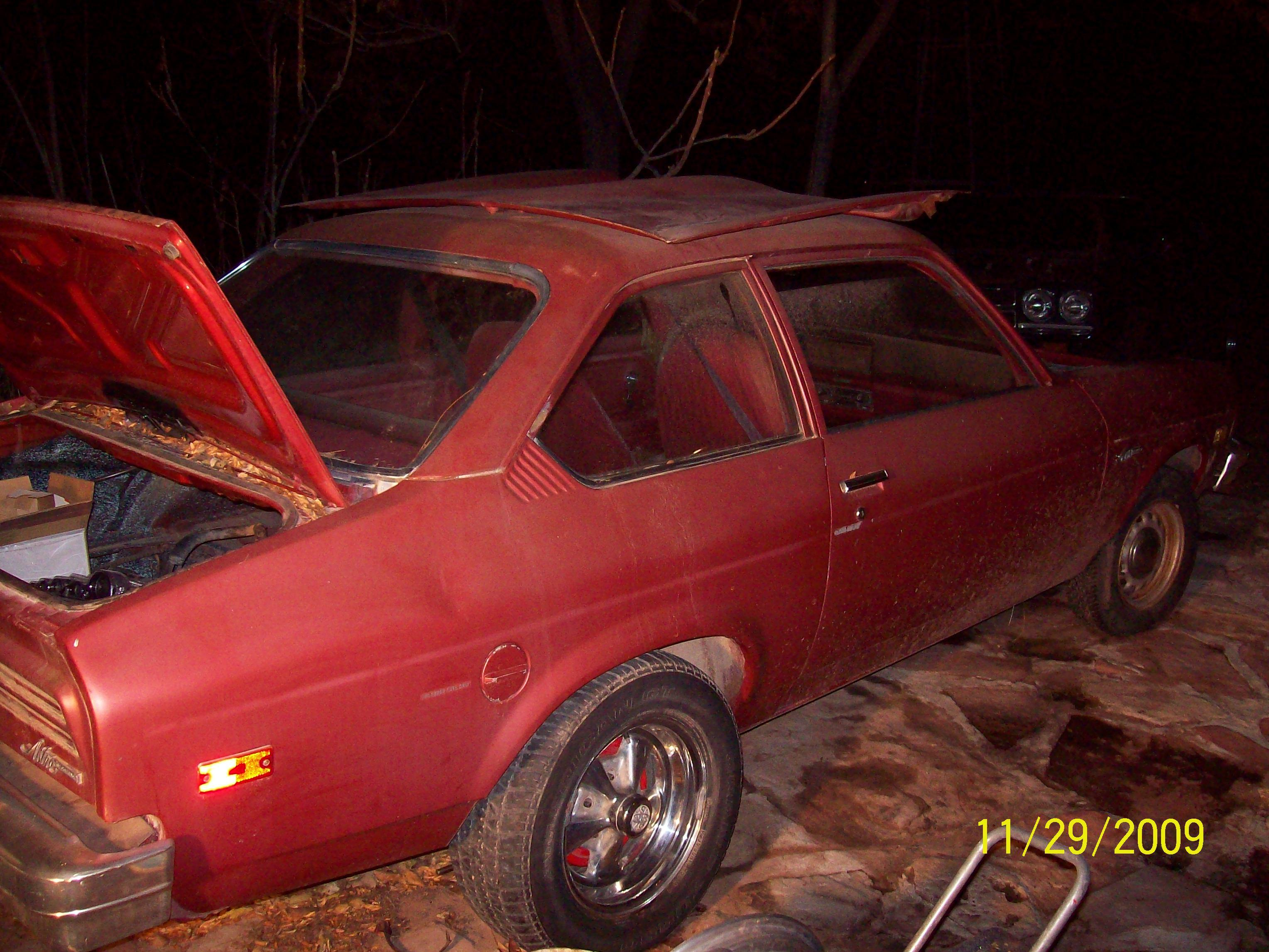 Another astre420 1976 Pontiac Astre post... - 13991330