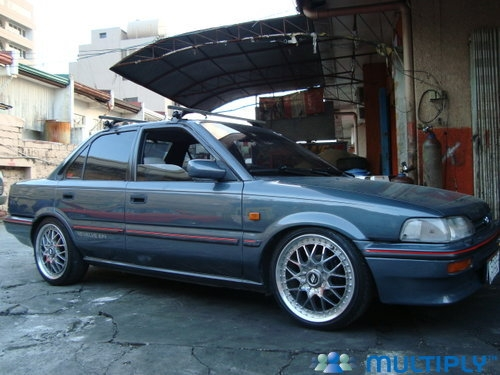 """1991 Toyota Corolla """"EuDM EE90 Corolla XLi"""" - Paranaque, owned by"""