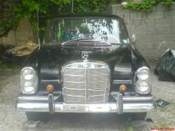 bigblockmuscle 1966 Mercedes-Benz 280S
