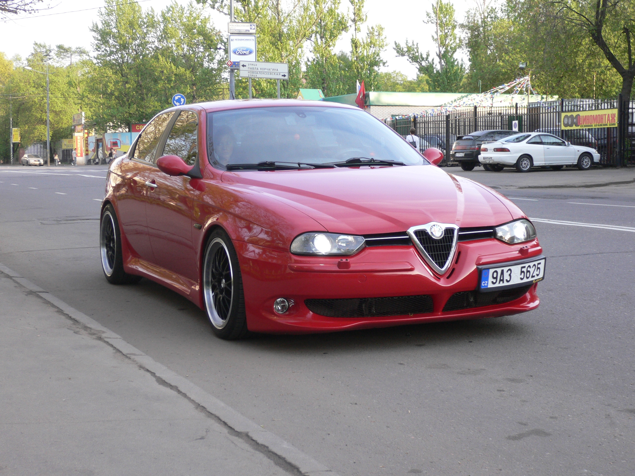 rostman 2003 alfa romeo 156 specs photos modification info at cardomain. Black Bedroom Furniture Sets. Home Design Ideas