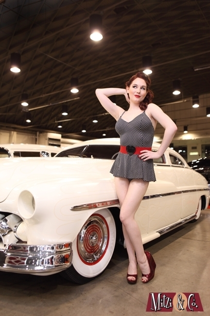 Beautiful Pinup model Angela Ryan