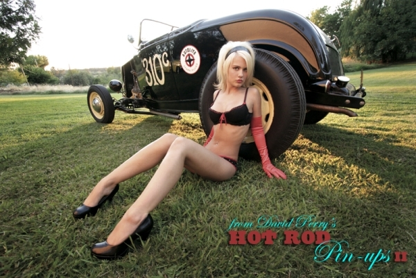 Bethany from the book Hot Rod Pinups II