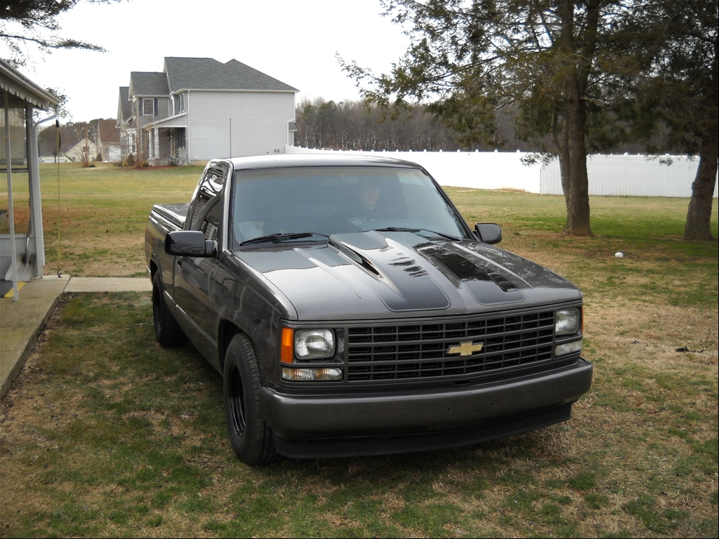 First Gen 12v Into 89 Chevy 1500