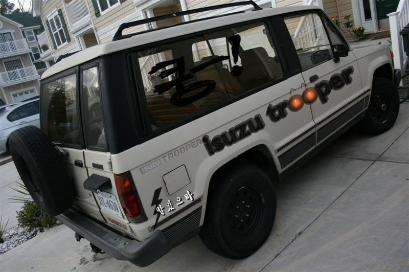 manuel_93's 1986 Isuzu Trooper