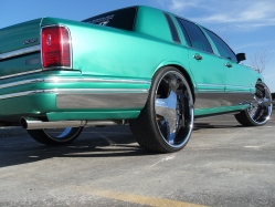 camelrider91s 1991 Lincoln Town Car
