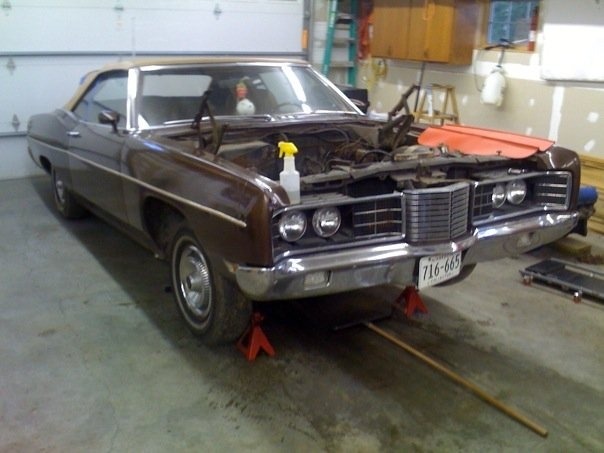 hotrmaster 1970 Ford Galaxie 14001148
