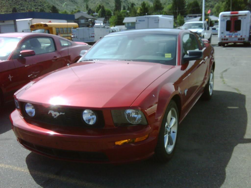 red82gt 2009 Ford Mustang